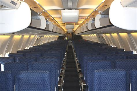 B757 Interior by A Flight Within The Us New York Miami With American Airlines