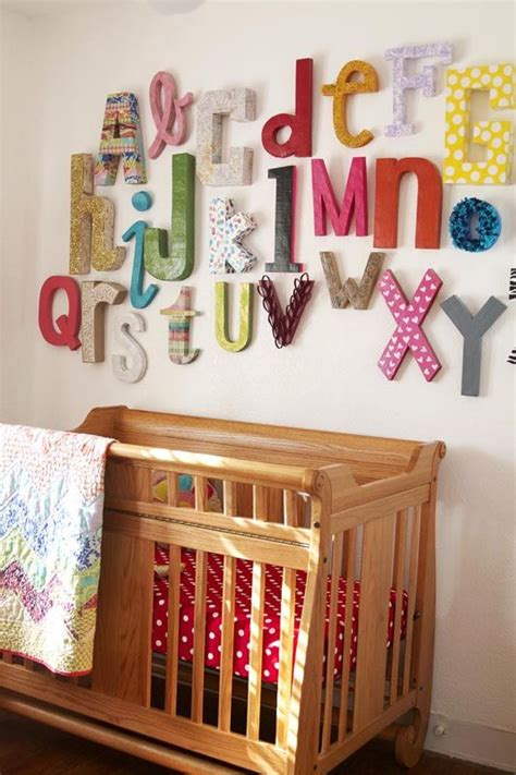 Abc Nursery Decor 25 Unique Alphabet Wall Ideas On Pinterest Alphabet Wall Abc Wall And Childrens And