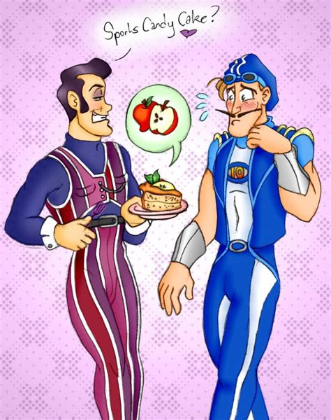 lazy town painting lazytown sports cake by ladykeane on deviantart