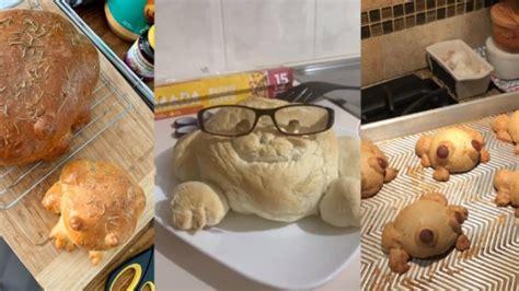 roti kodok tren makanan   viral  media sosial