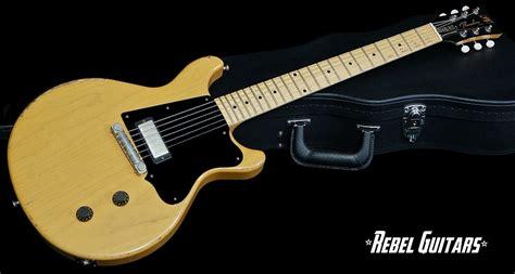 rock n roll relics rebel guitars rock n roll relics thunders in butterscotch rebel guitars