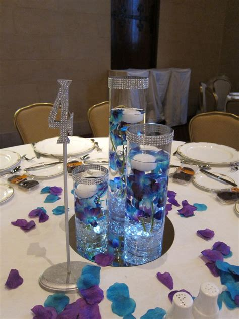 purple and teal wedding centerpieces 17 best images about purple and teal wedding on