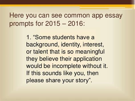 common app sle essays college essay prompts 2013 common application