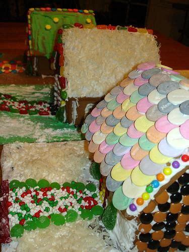 gingerbread house roof ideas winter holidays pinterest
