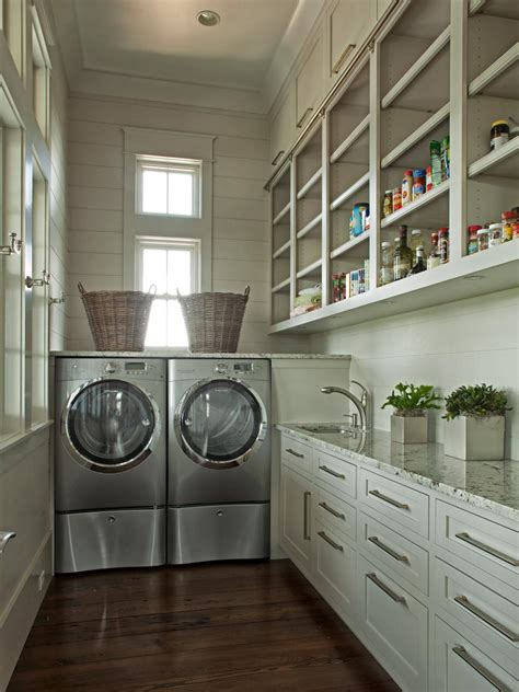how to decorate a laundry room 8 tidy laundry rooms that make washday hgtv