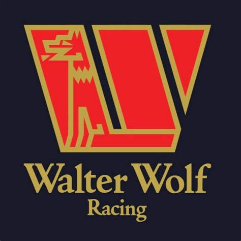 Aufkleber Wolf Racing by Walter Wolf Racing