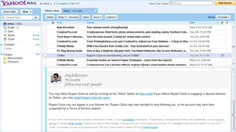 change layout yahoo mail read any email message in your gmail inbox with a right click