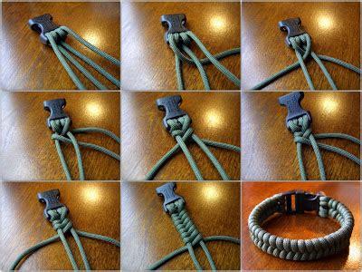 stormdrane's blog: woven paracord bracelets, one strand