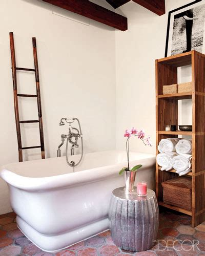 Terracotta Bathroom Accessories Hex Terracotta Tiles Mediterranean Bathroom