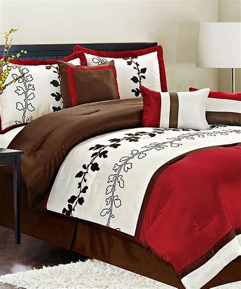 pelham comforter red chadwick queen comforter set