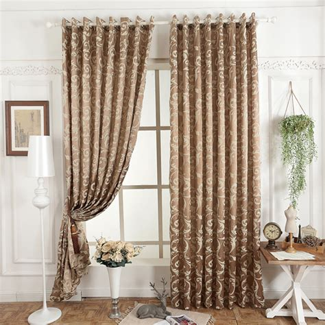 Simple Modern Curtains Inspiration Free Shipping Jacquard 3d Curtain For Living Room Simple Design Modern Fabric Curtains For