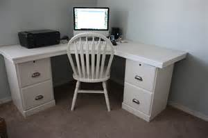 Diy Corner Desk Ideas Diy Desk Creations By Kara