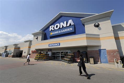 rona to buy its 20 franchises in bid to simplify its