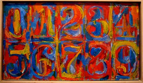 johns colors jasper johns painting numbers