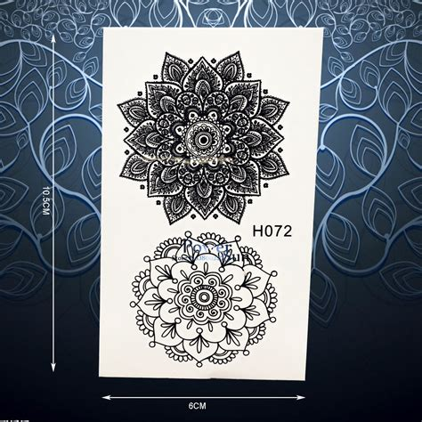 black typical tattoo sticker buy tattoo sticker body exquisite sun flower temporary tattoo sticker for women
