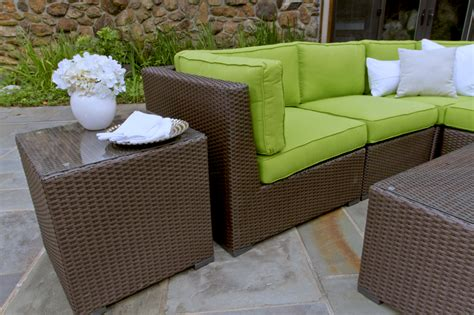 Outdoor Wicker Sectionals by Sonoma Outdoor Wicker Sectional Collection