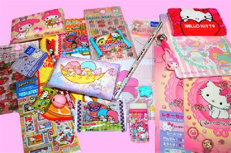 Goodie Bag Busur Kombinasi My Melody 5 sanrio character goods goodie bag set large of my melody hello