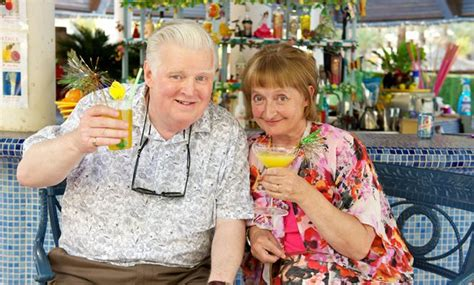 tv series about swinging how do the benidorm cast compare to real holidaymakers