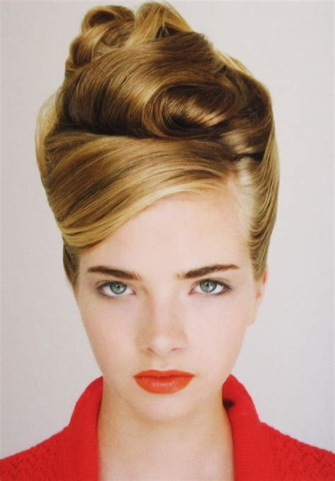 retro hairstyle updo short hair hairstyles vintage updo for every girl pretty designs