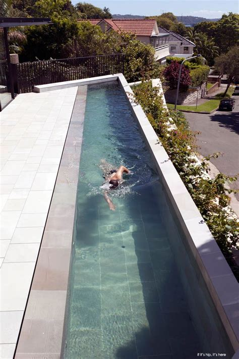 personal lap pool 18 meter suspended pool exercise pools pinterest