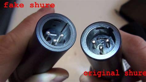 compare original and shure sm58