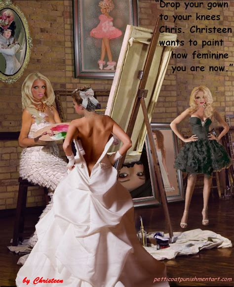 feminized by aunt 5 26 17 513 the hair bow and the gown don t paint the