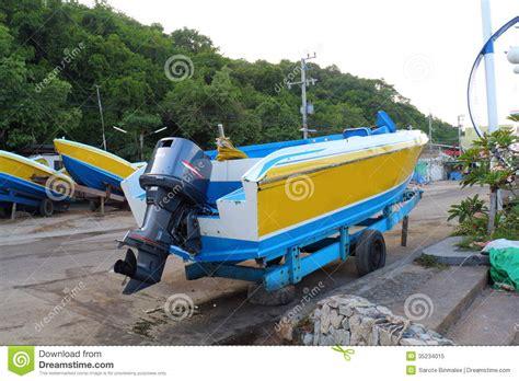 speed boat propeller motor propeller of speed boat royalty free stock photo