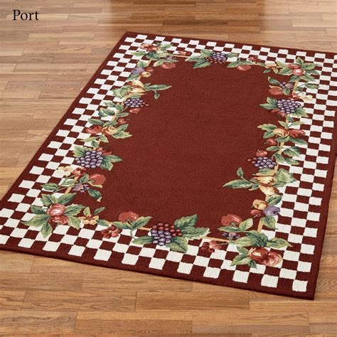 kitchen rugs fruit design kitchen rugs fruit design fruit kitchen rug orchard