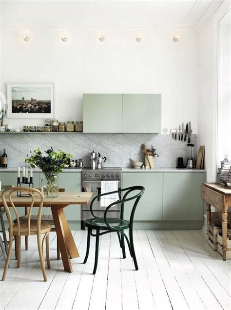 mint kitchens ideas to decorate scandinavian kitchen design