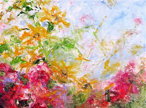 abstract garden daily painters abstract gallery sold garden i