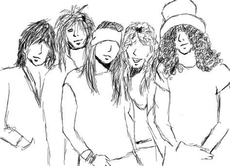 Drawing N Sketches by Guns N Roses Sketch By 123elias123 On Deviantart