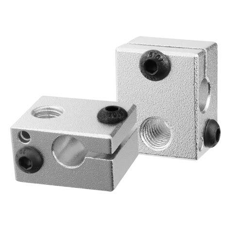 Aluminium Heater Block Assembly For Reprap Makerbot 3d Murah heater aluminium block assembly fit for 3d printer makerbot mk7 8 extruder te489 ebay