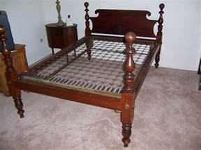bed my antique furniture collection