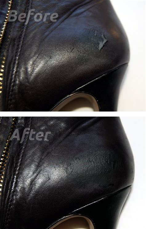 how to repair leather shoes fixing leather tears with a repair kit lollipuff