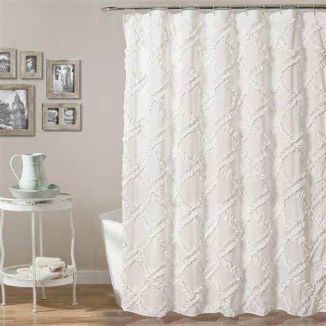 ruffle shower curtain white best 25 white ruffle shower curtain ideas on pinterest