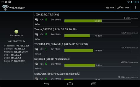how to get free wifi on android wifi analyzer android apps on play