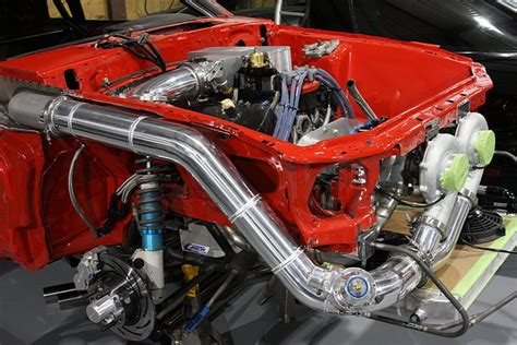 Turbo Plumbing by Bangshift Gratuitous Turbo From Dmc Racing