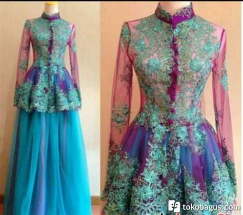 Baju Batik Gaun 1000 images about kebaya batik gaun on batik blazer fashion and jakarta