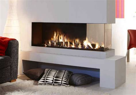 lucius 140 room divider see through fireplace the