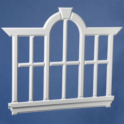 Tiny Home Design Plans by Fh26 Small Palladian Window Pvc Trim And Acrylic