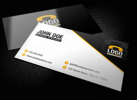 modern business card template modern business card template 1 design panoply