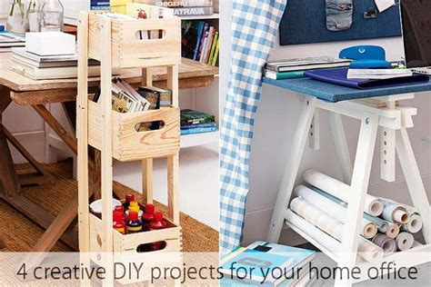 diy office projects 4 creative diy projects for your home office