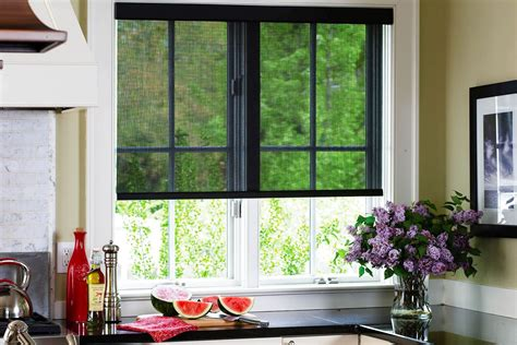 Kitchen Roller Blinds Solar Shades Custom Made Shades Blinds To Go