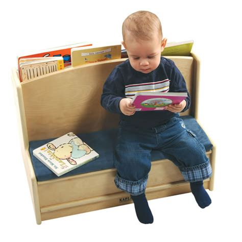 bench reading toddler sit read bench by kaplan early learning company