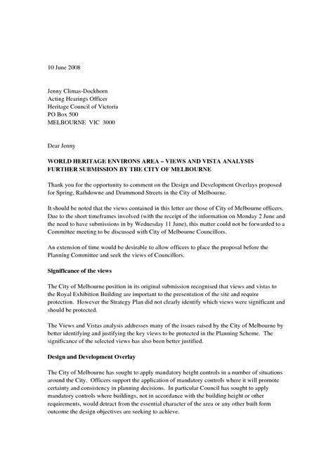 Business Letter Format In Doc standard letter format letters free sle letters