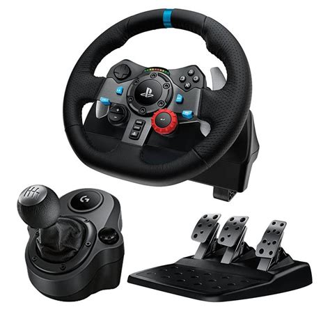 volante pc logitech logitech g29 driving racing wheel gaming for ps4 ps3 pc