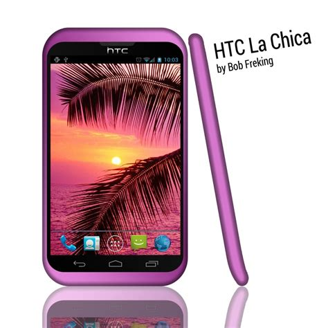 girly wallpaper for htc htc la chica is a girly phone with android 4 0 concept
