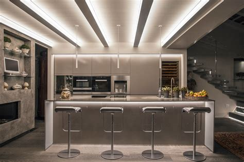 illuminazione led casa ecco come illuminare la cucine e la zona living con le