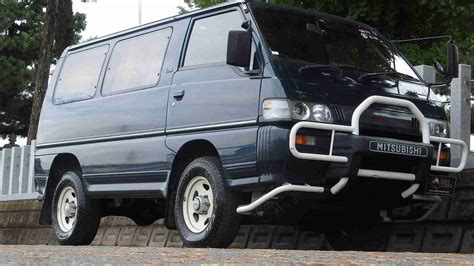 mitsubishi delica for sale mitsubishi delica star wagon diesel for sale in japan at
