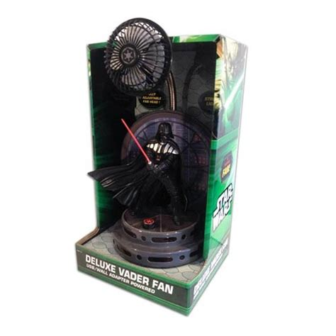 wars darth vader deluxe desk fan